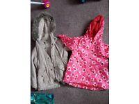 Girls coats 2-3yrs