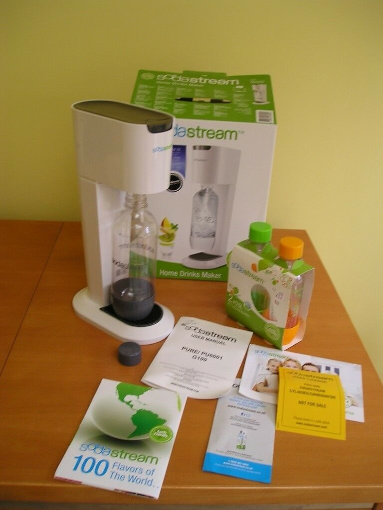 Sodastream Kit Model Genesis To Make Sparkling Drinks Excellent