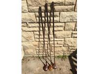Vintage golf wood set