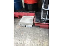 Waste oil protection tray. Two sizes