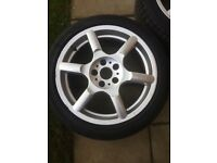 Vauxhall Vectra B GSI 17 alloys
