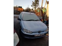 2002 PEUGEOT 106 1.0 PETROL BREAKING FOR PARTS