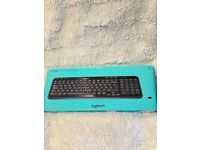 Logitech K360 Compact Wireless Keyboard for Windows, 2.4GHz Wireless with USB Unifying Receiver