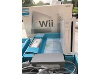 Nintendo Wii D-63760, model RVL-001, plus games & extras, all in good condition with box