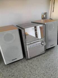 Panasonic micro CD system