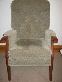 Parker Knoll style armchair.