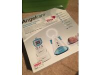 Brand new - never used - Angelcare movement & sound baby monitor! Never used. Still in box.