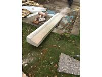 Concrete sill 1800 75in by 11in