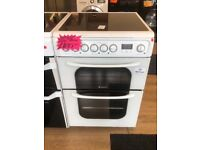 HOTPOINT 60CM CEROMIC TOP ELECTRIC COOKER