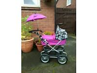 Mama's and Papa's dolls pram for sale