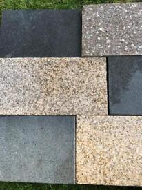 Granite paving slabs(heavy duty)