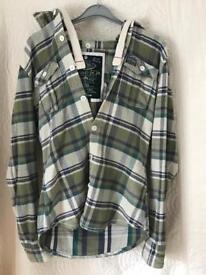 Superdry Hooded Shirt Medium