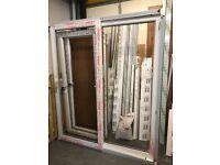 Brand New white woodgrain upvc patio door