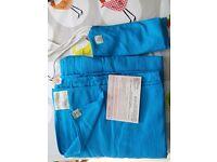 Ling ling d'amour woven wrap/ sling, light blue, size 4,5m 100% cotton, babies 3-15 kg