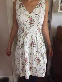 MONSOON PRINTED LADIES DRESS size 10