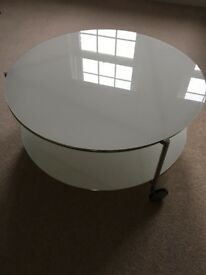 IKEA coffee table for sale (75cm diameter)