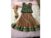 Girls lengha choli dress