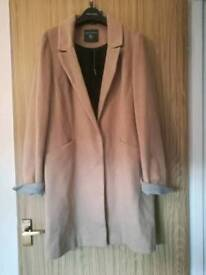 Size 10 Dorothy Perkins Camel Coat BNWT