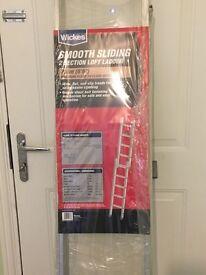 Wickes Smooth sliding Loft Ladder