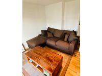 Excellent quality L shaped detachable sofa