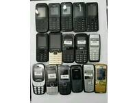 Brand New Nokia 105-108-1112-1200--6230-6300-2730 Unlocked Open To All Networks