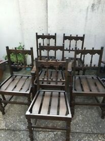Ercol - old colonial yorkshire chairs