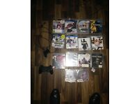 PlayStation 3 slim 140gb with remote & 1pad & 14 top games FIFA 16 / code 3 / GTA 5 an more £130