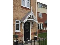 Door porch / canopies bespoke made to order,