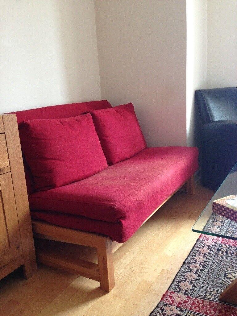 Oak Double Sofa Bed Futon Company Great Condition