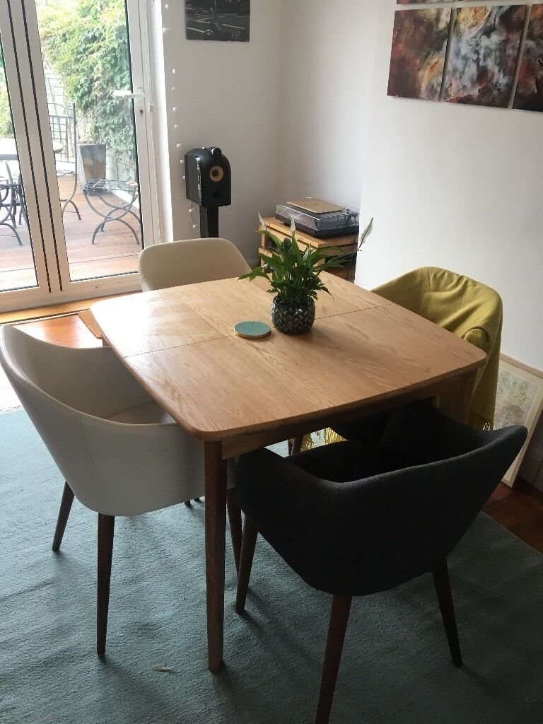 Extending Oak Dining Table Monty By Made