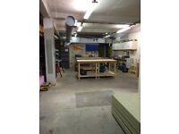 Studio Workshop Space for Rent