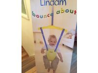 Lindam bounce about baby bouncer
