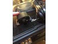 Sub woofer, car amp, speaker