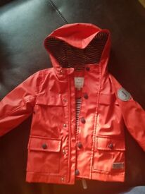 Jasper conran water proof jacket 12-18months