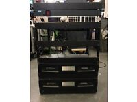 2x Crown DCi 2|300 Amplifiers with rack included for sale