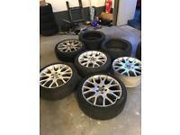"Volvo 5x108 18"" alloys alloy wheels"