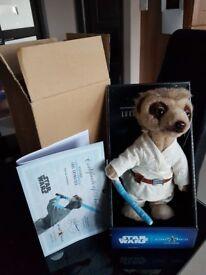Meerkat Aleksandr as Luke Skywalker - Compare the Market Meerkat Collectable - StarWars
