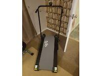As new manual treadmill