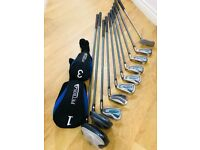 PETRON Ladies Full Golf Set and Emporio Armani Golf Bag