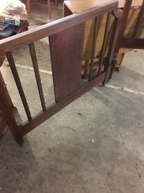 Antique bedstead