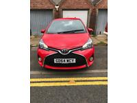 Toyota Yaris VVT-I petrol 1.33 2015 5 door - 2 year warranty with Toyota