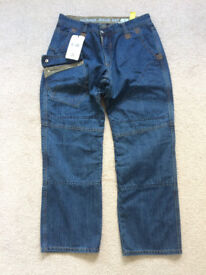 Motorcycle / Motorbike Jeans. New with tags.