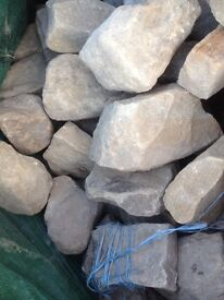 Yorkshire stone / rocks for building wall or rockery