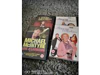 Comedy dvds x 9