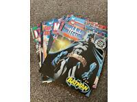 Superhero DC & Marvel fact comics