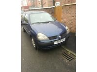renault clio 1.2 petrol only for 300 pounds