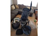 Quinny Buzz buggy and accessories