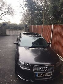FRESH RARE Audi A3 S-Line Quattro Special Edition Lava Grey Pan Roof BOSE system