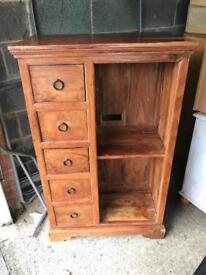 Indian Sheesham Solid Wood Cabinet