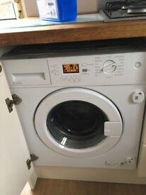 Intergated washing machine